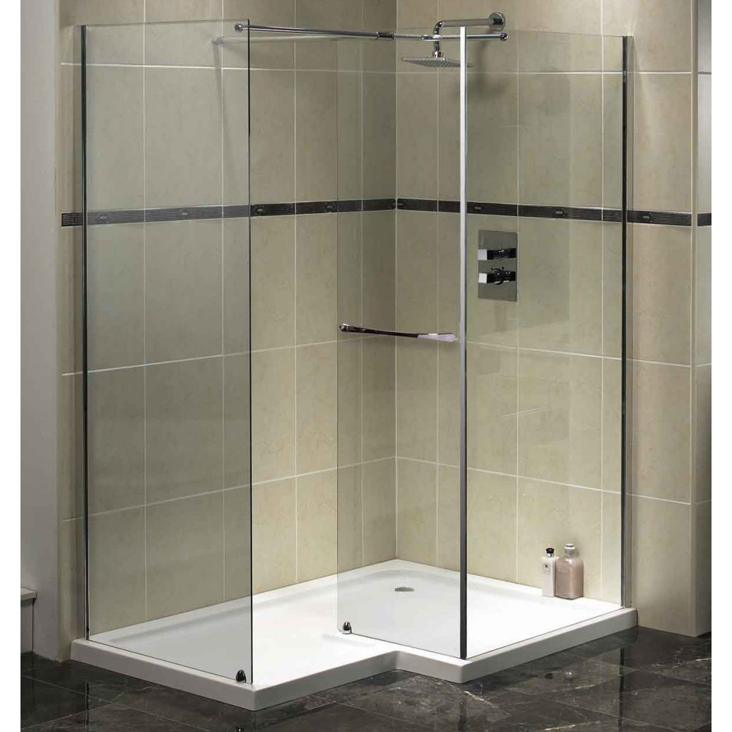 Trend homes walk in shower modern design for Shower and bathroom designs