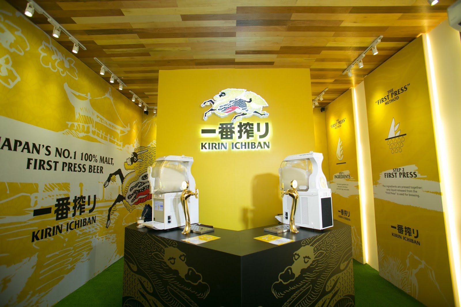 KirinMY: Sip On Frozen Beer At Malaysia's First Kirin Ichiban Beer ...