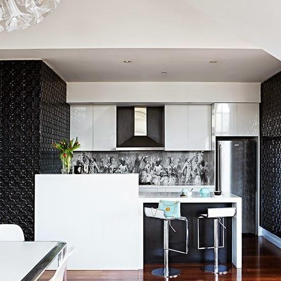 Decoración, Un apartamento de cine. Vivir entre Hollywood y París. Cocina, Kitchen, La Musa
