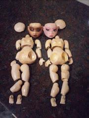 Primeras muñecas articuladas