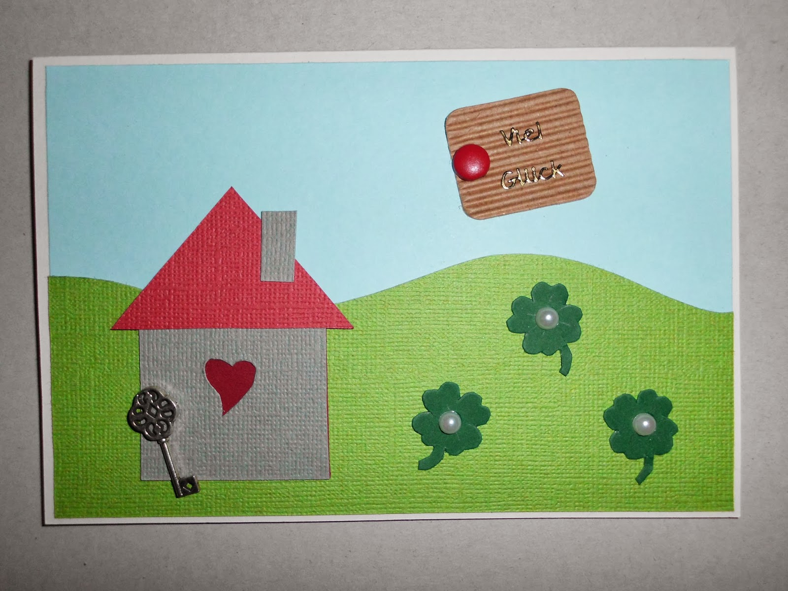 kitty s kreativst bchen karte zum umzug. Black Bedroom Furniture Sets. Home Design Ideas