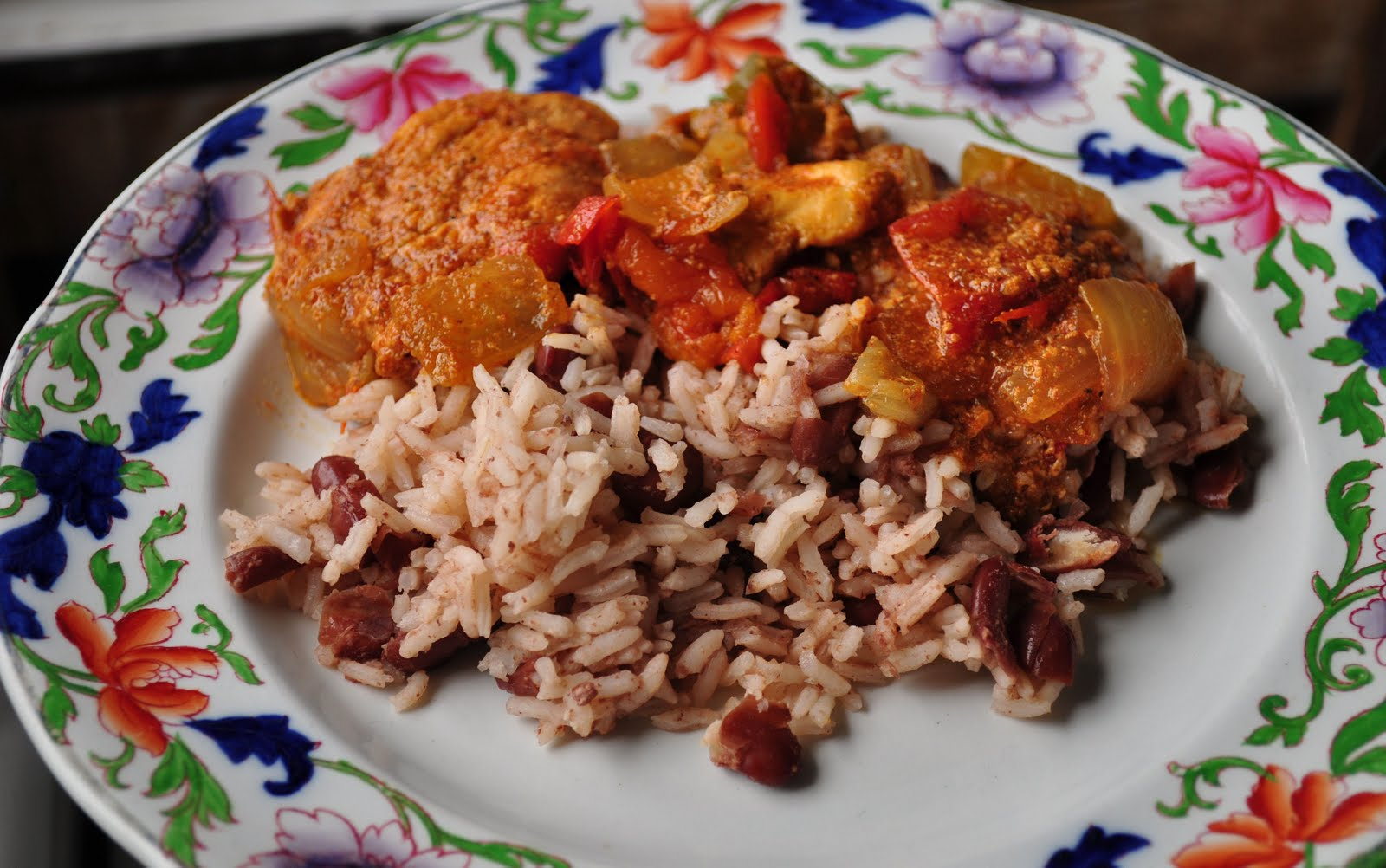 ... life in Belize: Dona Betty's Belizean Stewed Chicken, Rice and Beans