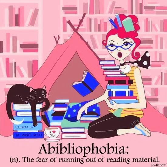 Definition of Abibliophobia