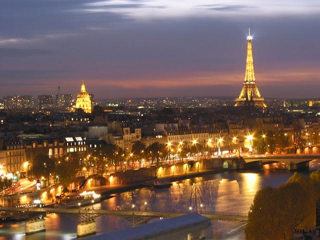 Francia, un páis elegido por las parejas