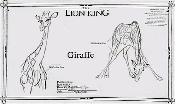 living lines library  the lion king  1994