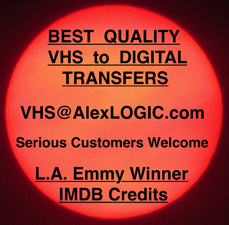 Best Queality VHS to Digital Transfers
