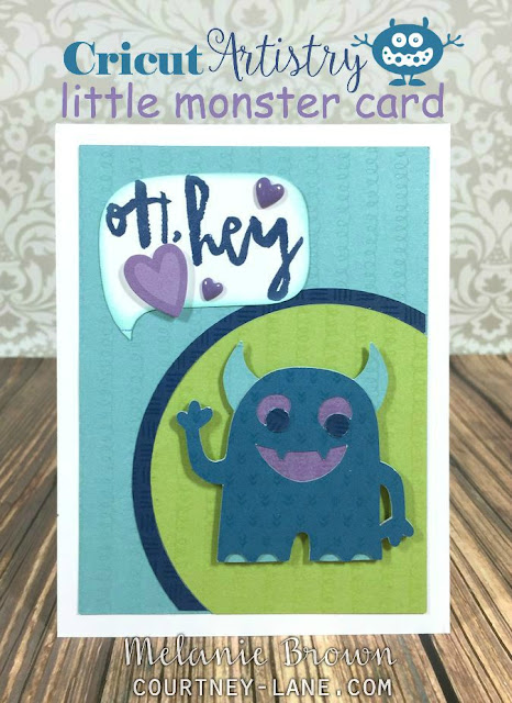 little monster card