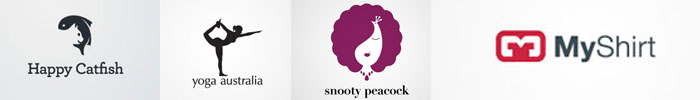 30 Creative Examples of Negative Space Logos