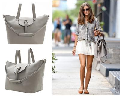 Meli Melo Thela Tote bag, new taupe, Olivia Palermo