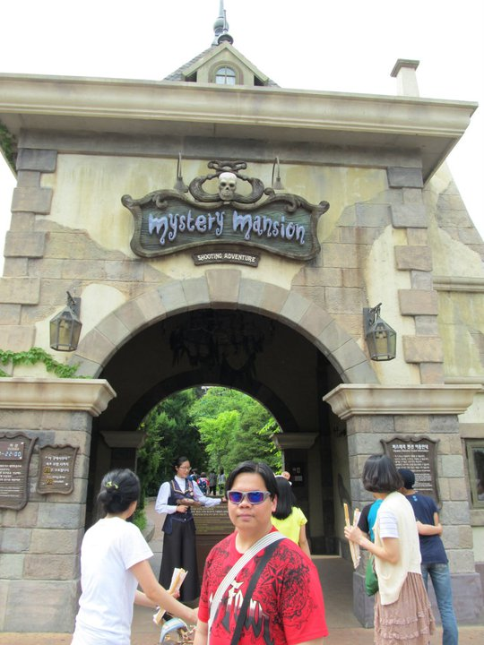 South Korea Seoul Everland Mystery Mansion