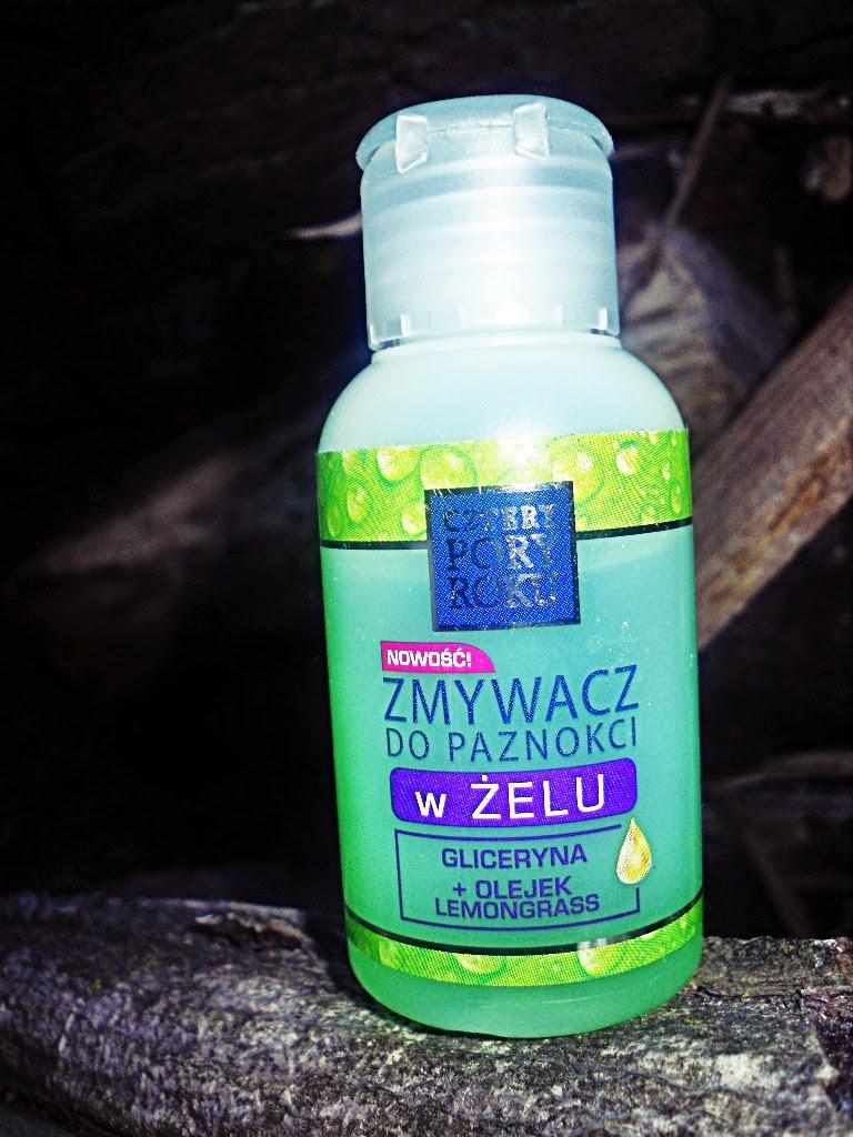 Cztery Pory Roku - zmywacz do paznokci w żelu gliceryna + olejek lemongrass