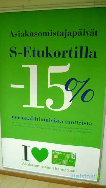 15% discount and more at Sokos