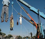 Seven hanged in central Iran