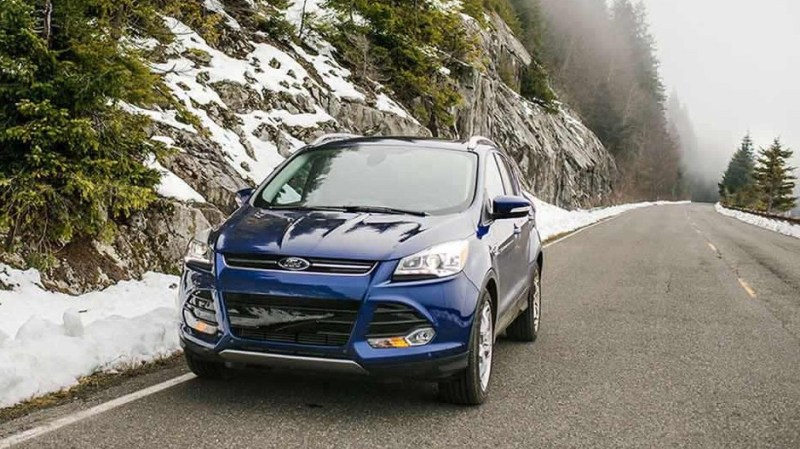 New Ford Escape Suv Hybrid Test Drive Review And Price