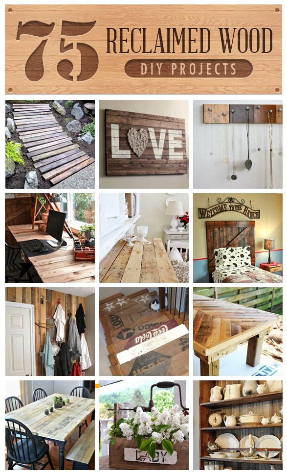 75 Reclaimed Lumber projects, curated by Funky Junk Interiors on HomeTalk