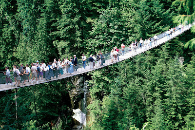 Capilano Suspension Bridge British Columbia Canada Tourist Centre