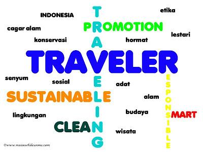 Menjadi Traveler yang Bertanggung Jawab