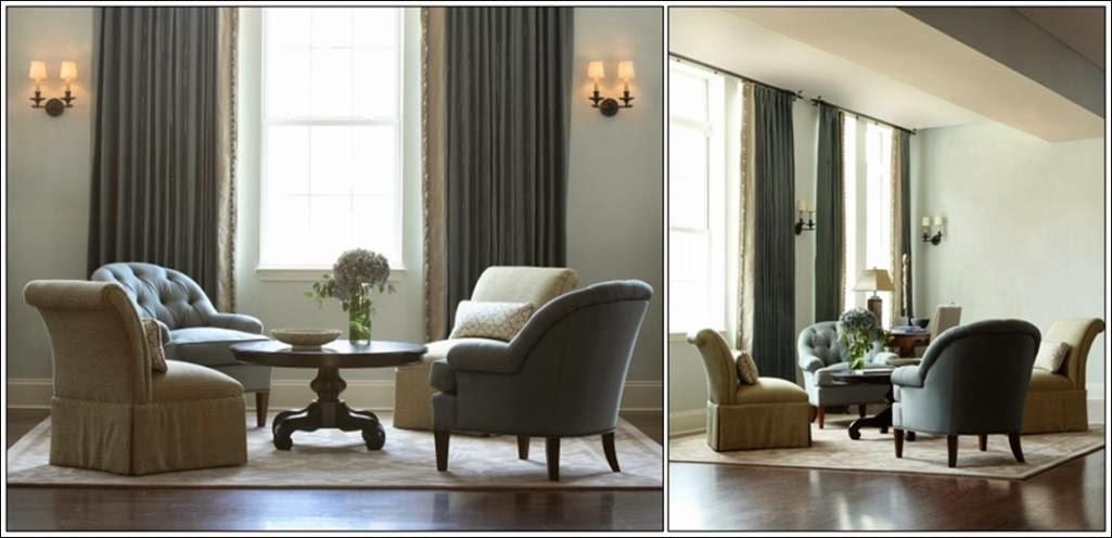 D coration salon avec quatre chaises d coration salon for Accessoire deco salon