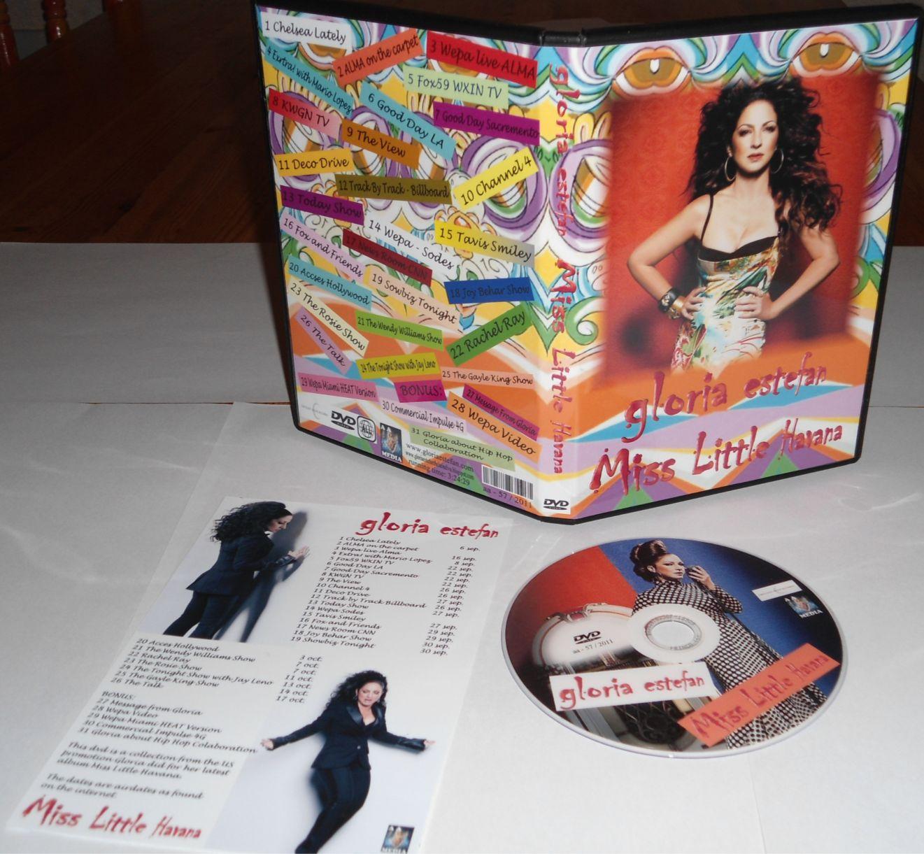 Gloria Estefan: Gloria Estefan - Miss Little Havana dvd  Gloria Estefan Little Miss Havana
