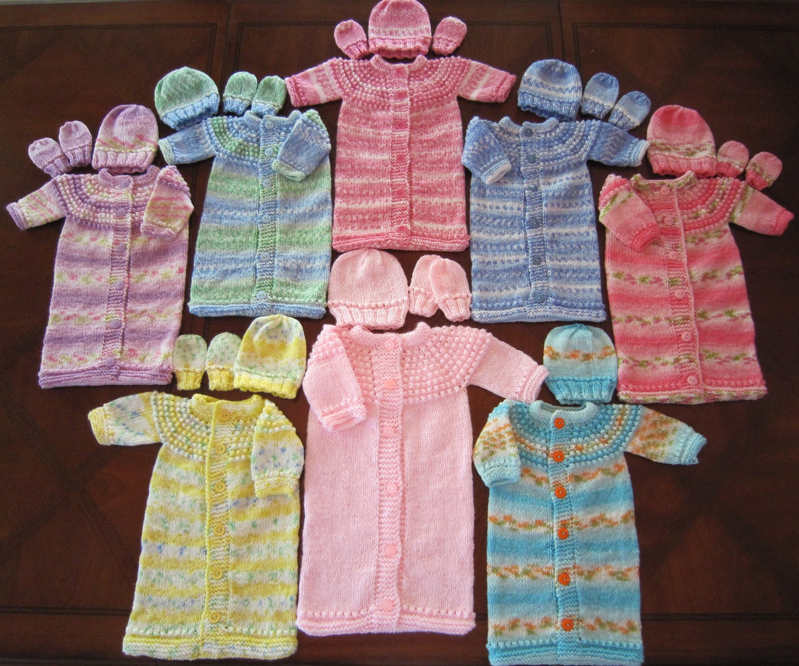 Sea Trail Grandmas: Knitting Pattern; Preemie & Newborn SLEEP SACK ...