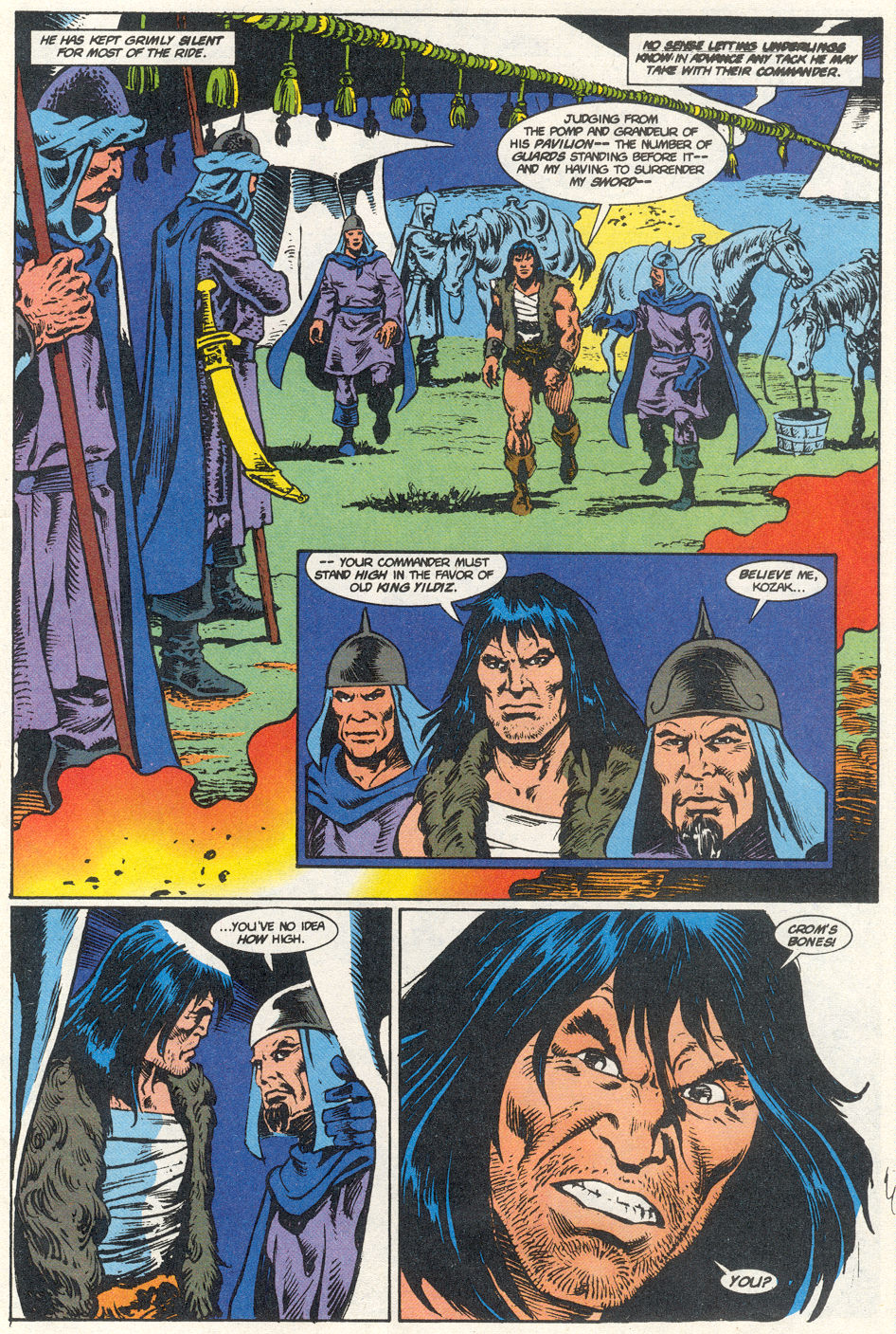 Conan the Barbarian (1970) Issue #275 #287 - English 38