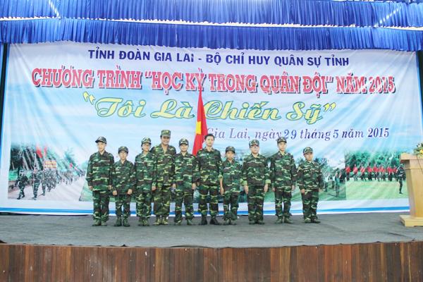 Gia Lai: Học kỳ quân đội 2015 - Rèn sức vóc, luyện tinh thần
