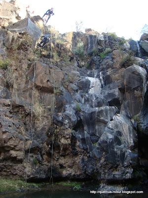 Primer cascada del cañón de Matatlán