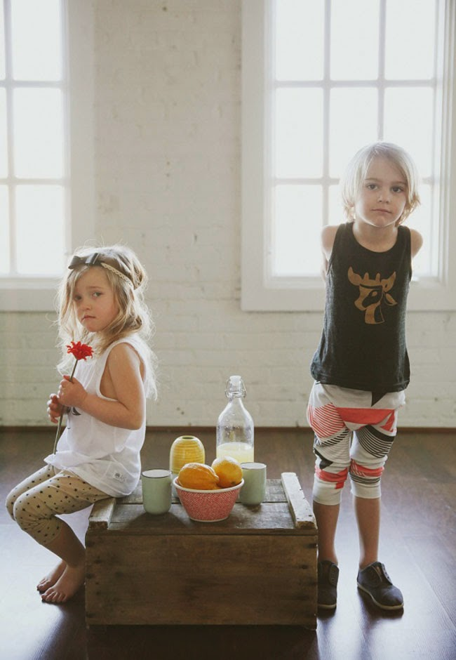 kids fashion photography for Kindred OAK spring 2014 kidswear collection