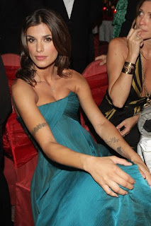 Elisabetta Canalis tattoo Designs