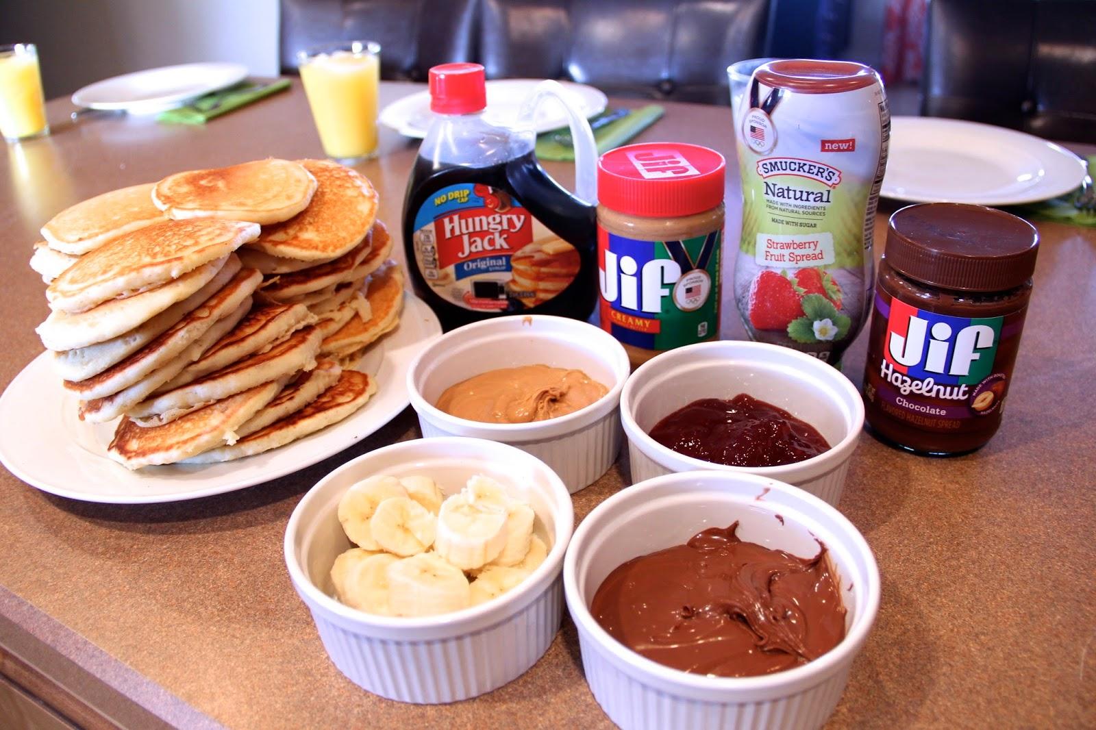 Pancake Topping Buffet or Bar!