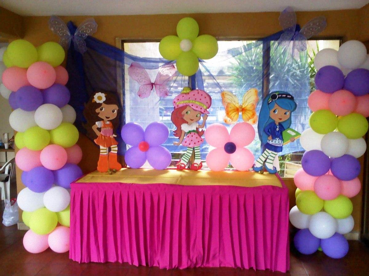 Decoraciones para fiestas infantiles con promotora de for Decoracion de globos para fiestas infantiles paso a paso