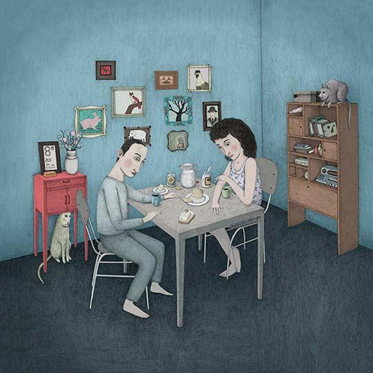 Ilustración de Juan Hoyos aka Alefes Silva