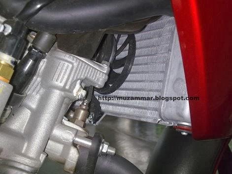 Kipas radiator New Yamaha Vixion Lightning