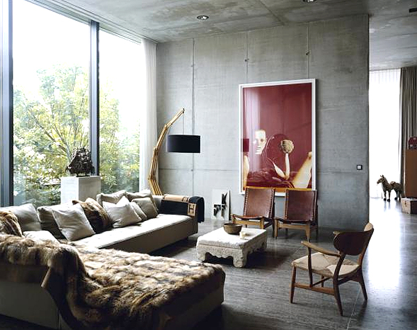 Let 39 s stay industrial chic design ideas for Trendy living room