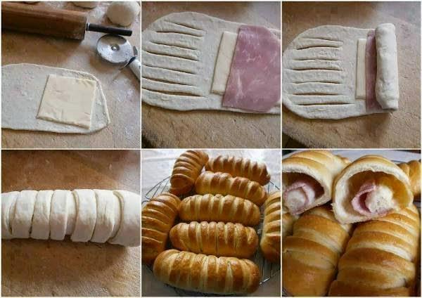 arrotolato al prosciutto e formaggio (clicca e condividi)