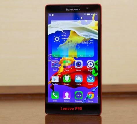 Harga dan Spesifikasi Smartphone Lenovo P90 Terbaru 2015