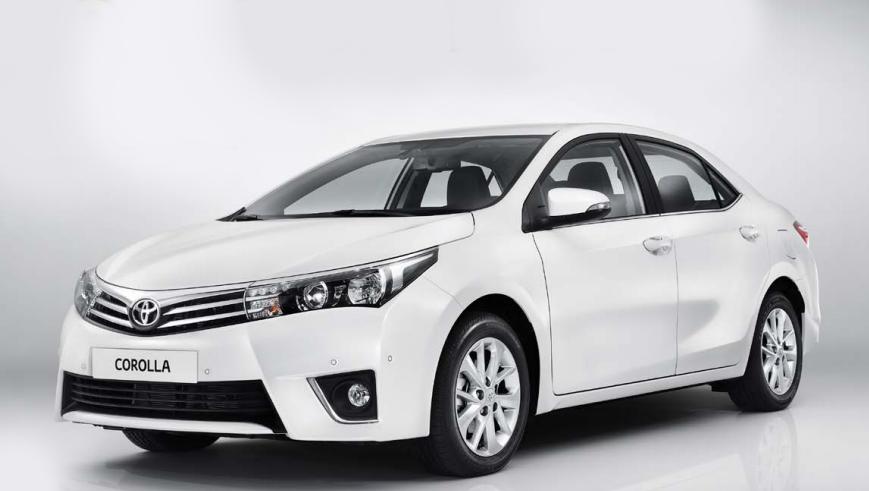 image caption: Yeni 2014 Toyota Corolla Tanıtımı (resimli ve