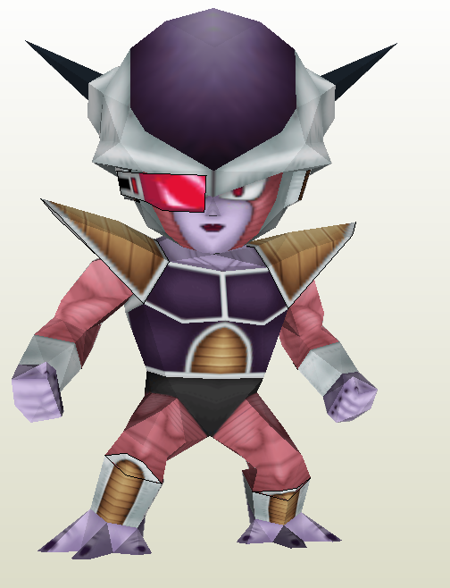 Papercraft Dragon Ball Z Chibi