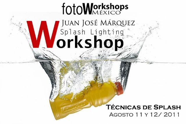 Curso de Fotografía Splash Lighting,Foto Workshops México Curso de Fotografía Digital en México D.F.,cursos de fotografía