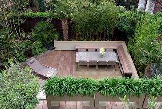 Garden interior design