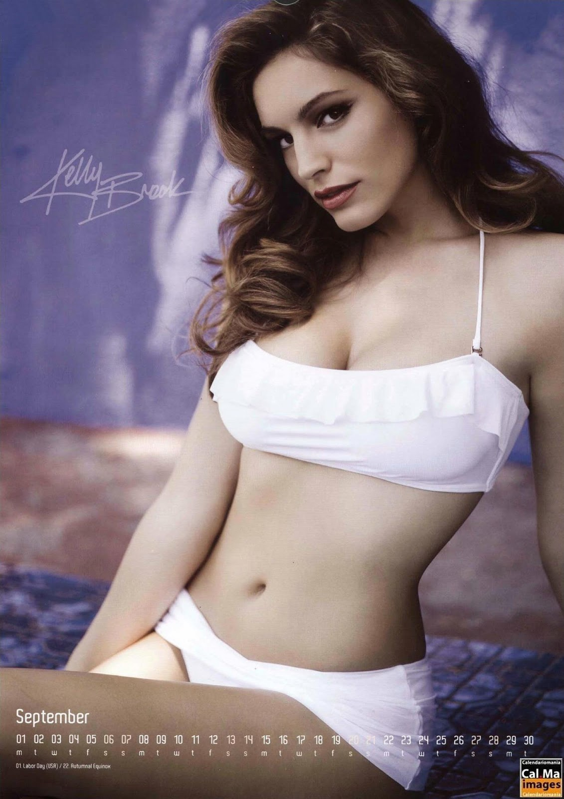Kelly+Brook+2008+Calendar+8 18 Best Kelly Brook Photos in Swimwear