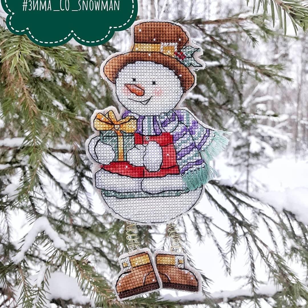 #зима_СО_snowman