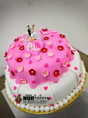 Wed. cake 9