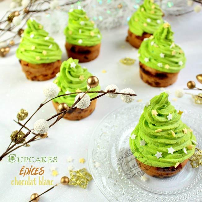 cupcakes sapin