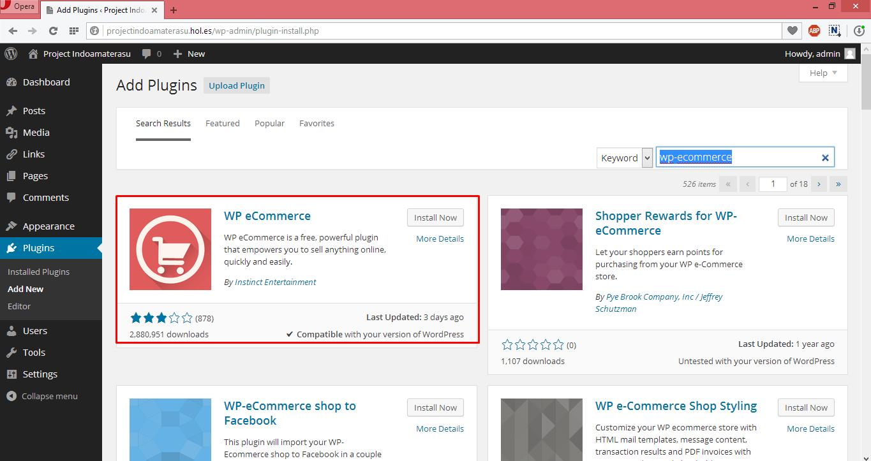 Panduan Menggunakan Pugin Wp eCommerce Unruk Membuat Toko Online di Wordpres 2