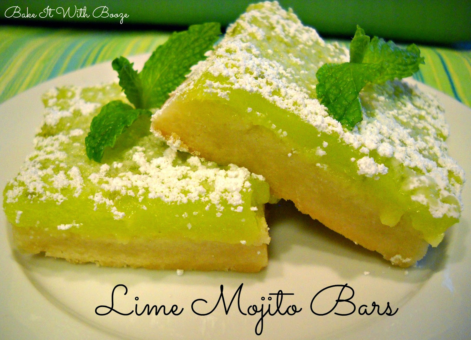 Lime Mojito Bars