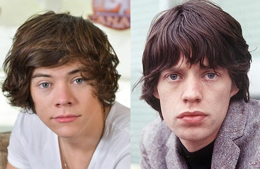 Young Mick Jagger Harry Styles Why Harry Styles Is No...
