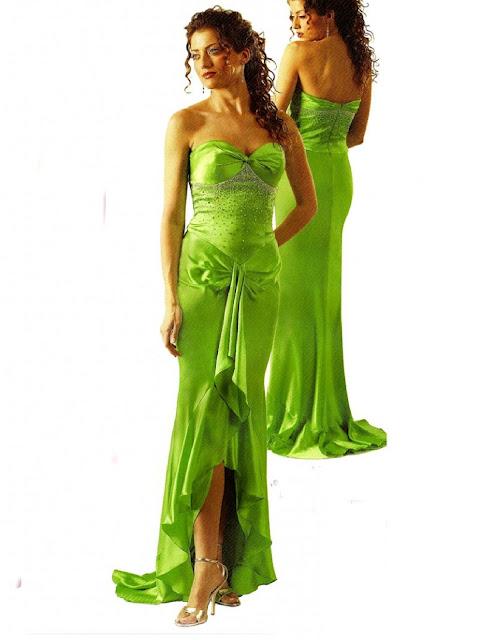 Kleider Abschlussball  grün Ballkleider, Cocktailkleider, Abendkleider