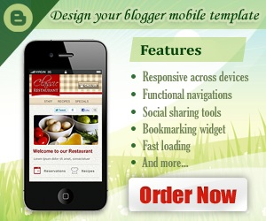 Design Your Blogger Mobile Template