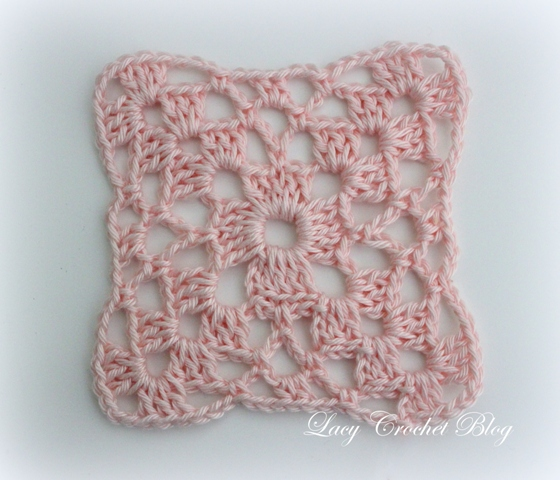 Lacy Crochet Simple Crochet Motif And Lacy Tray Cloth Free Vintage